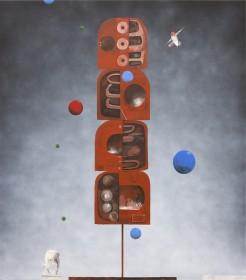 Pro et contra by Shane Cotton